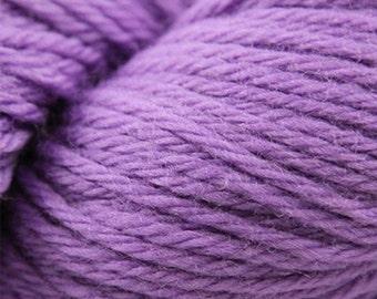 Deep Lavender Cascade 220 Yarn 220 yards 100% Peruvian Highland Wool color 8762