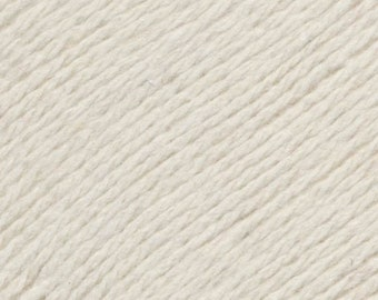 Ecru United Lambswool Cotton by Queensland Collection Sport Weight Certified Organic 251 yards