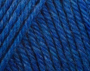 Sapphire Blue Heather Cascade 220 Yarn 220 yards 100% Peruvian Highland Wool color 9456