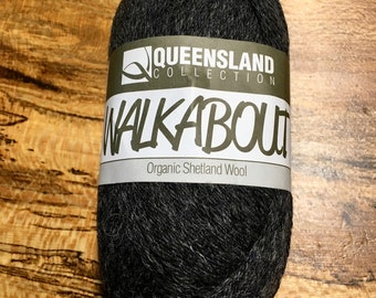 Oxford Walkabout Organic Shetland Wool by Queensland Collection Sport Weight Certified Organic 157 yards Color 05