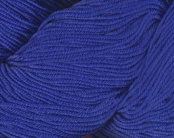 Egyptian Cotton Phoenix DK Ella Rae Yarn DK Weight 273 yards 100% Egyptian Cotton Yarn #1050 Pacific Blue