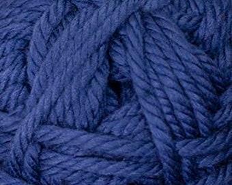 Cherub Super Bulky Incredibly Soft Navy Cascade Yarn 131 yards Acrylic Nylon Blend Color 27
