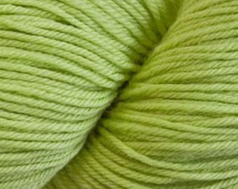 Citron Cascade Heritage Yarn 437 yards Super Fine Wool Nylon Sock Yarn Color 5629