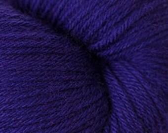 Violet Indigo Cascade Heritage Yarn 437 yards Super Fine Wool Nylon Sock Yarn Color 5719