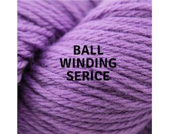 Yarn Cake Winding Service Ball Winding for Hanks