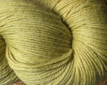 Burnished Gold Cascade Heritage Yarn 437 yards Super Fine Wool Nylon Sock Yarn Color 5707