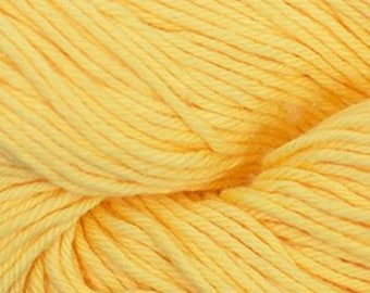 Yellow Cascade Nifty Cotton Worsted Weight 100% Cotton 185 yards