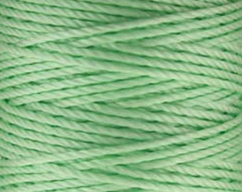 S-Lon Tex 400 Pastel Mint Green Multi Filament Cord 35 yard Spool