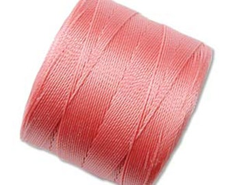 S-Lon Micro Tex 70 Rose Pink Multi Filament Cord 287 yard Spool