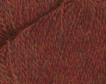 Campfire Red Herriot Fine Yarn by Jupiter Moon Farm 461 yards Super Fine Alpaca Nylon Sock Yarn Color 2025