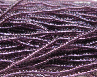 11/0 Transparent Amethyst Purple Czech Glass Seed Beads 16.8 grams