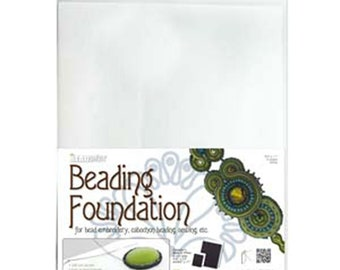Beading Foundation White 4 Sheets 8.5 x 11 inches 4 pcs