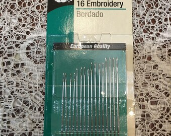 Hand Needles for Embroidery Size 3/9  16 needles