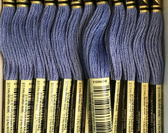 DMC 793 Medium Cornflower Blue Embroidery Floss 2 Skeins 6 Strand Thread for Embroidery Cross Stitch Needlepoint Sewing Beading