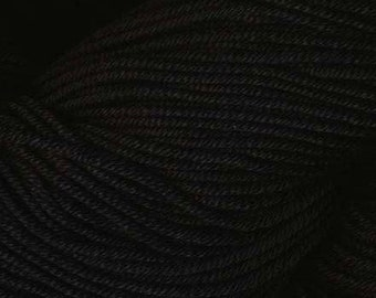 Egyptian Cotton Phoenix DK Ella Rae Yarn DK Weight 273 yards 100% Egyptian Cotton Yarn #1020 Black