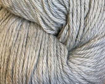 Clearance Silver Cascade Hampton Pima Cotton and Linen DK Weight Yarn 273 yards color 04 Last One