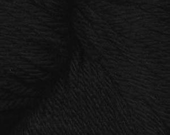 Carbonite Black Ella Rae DK Merino Superwash Wool Yarn 260 yards Color 101
