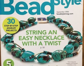25% OFF Bead Style Magazine String an Easy Twist Necklace Bracelets for Fall Enamel Earrings Asymmetrical Jewelry Turquoise Nuggets Septembe