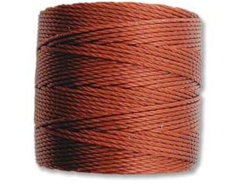 Sienna S-Lon 210 #18 Bead Cord Tex 210 Multi Filament Twisted Nylon Cord One Spool 77 yards