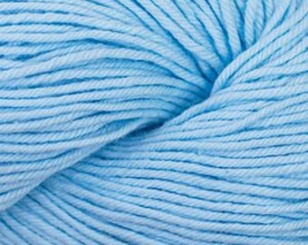 Soft Blue Cascade Nifty Cotton Worsted Weight 100% Cotton 185 yards