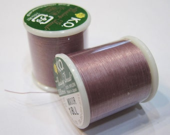 Lilac KO Nylon Japanese Beading Thread 55 yards