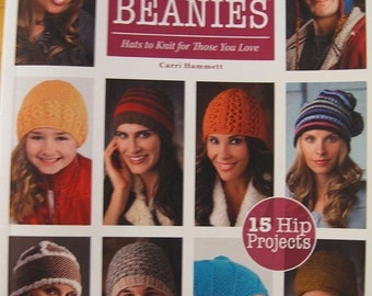 25% OFF More Than a Dozen Hats and Beanies Hats to Knit for Those You Love by Carri Hammett