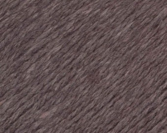 Cocoa Brown United Lambswool Cotton by Queensland Collection Sport Weight Certified Organic 251 yards
