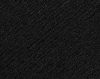 Black United Lambswool Cotton by Queensland Collection Sport Weight Certified Organic 251 yards