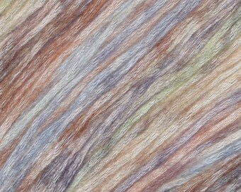 Everest Painted Mist Knitting Fever Modal Acrylic Wool 273 yards Brown Blue Green Color 302