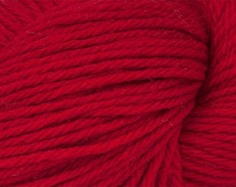 Ruby Red Cascade 220 Yarn 220 yards 100% Peruvian Highland Wool color 9404