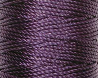 S-Lon Tex 400 Purple Multi Filament Cord 35 yard Spool