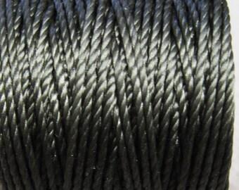 S-Lon Tex 400 Dark Olive Green Multi Filament Cord 35 yard Spool