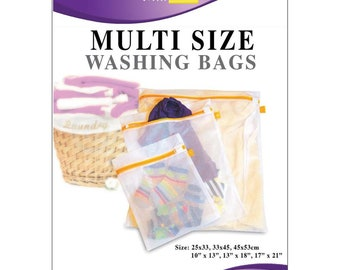 Mesh Laundry Bag for Delicate Hand Knits Felting Innovative Home Creations Multi Size Mesh Laundry Bags 3 Bags