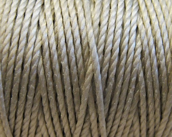 S-Lon Tex 400 Light Gray Multi Filament Cord 35 yard Spool