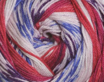 Jewels Cascade Heritage Prints Yarn 437 yards Super Fine Wool Nylon Sock Yarn Color 29