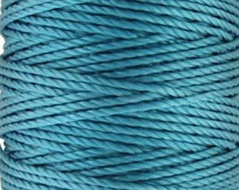 S-Lon Tex 400 Bermuda Blue Multi Filament Cord 35 yard Spool