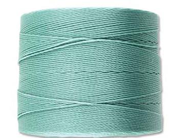 S-Lon Micro Tex 70 Vintage Jade Multi Filament Cord 287 yard Spool