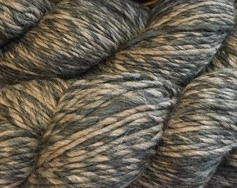 Yarn Alpaca Wool Eco Duo Chickory Color Yarn 197 yards Worsted Weight Alpaca Merino Wool Blend Color 1704