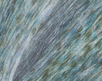 Larimar Painted Mist Knitting Fever Modal Acrylic Wool 273 yards Blue Green Color 314