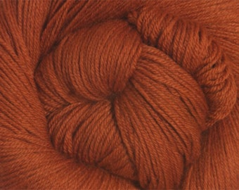 Cinnamon Cascade Heritage Yarn 437 yards Super Fine Wool Nylon Sock Yarn Color 5640