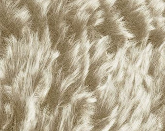 Furreal Fur Yarn Golden Jackal by Knitting Fever 100% Polyester Super Bulky Weight 71 Yards #13