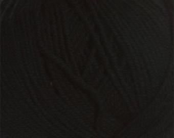 Black Cascade 220 Superwash Yarn 220 yards 100% SuperWash Wool color 815