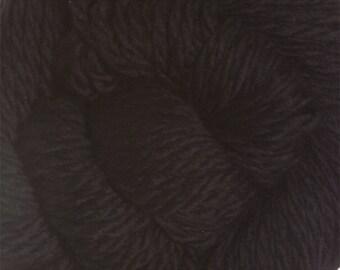 Black Cascade 128 Bulky Superwash Yarn 128 yards 100% SuperWash Wool color 815