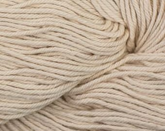 Buff Beige Cascade Nifty Cotton Worsted Weight 100% Cotton 185 yards