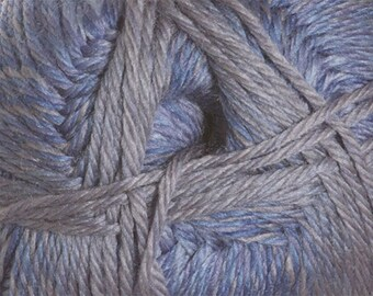 Denim Color Wave Variegated Cascade Pacific 213 yards Merino Wool and Acrylic Yarn color 309