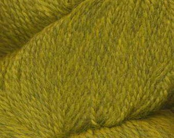 Pampa Sunrise Green Herriot Fine Yarn by Jupiter Moon Farm 461 yards Super Fine Alpaca Nylon Sock Yarn Color 2015