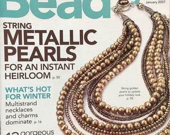 25% OFF Bead Style Magazine String Metallic Pearls Multi Strand Necklaces Turquoise Lariat Necklaces January 2007