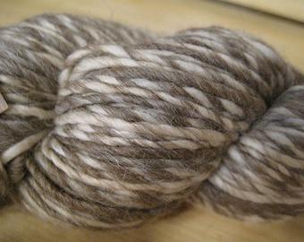 Yarn Alpaca Wool Eco Duo Pecan Color Yarn 197 yards Worsted Weight Alpaca Merino Wool Blend Color 1702