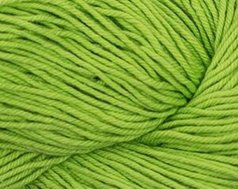 Lime Green Cascade Nifty Cotton Worsted Weight 100% Cotton 185 yards