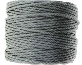 S-Lon Tex 400 Grey Multi Filament Cord 35 yard Spool